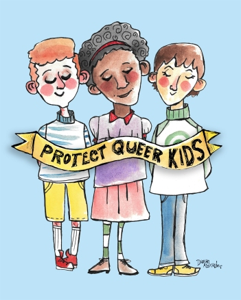 LGBTQ children face a plethora of discrimination. Let's make sure they don't have to.