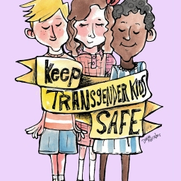 Transgender kids are often made to feel unsafe. Let's make sure they don't have to.