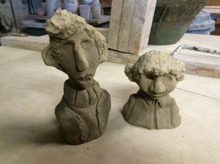 Maquettes for Toby & Bernadette (2015)