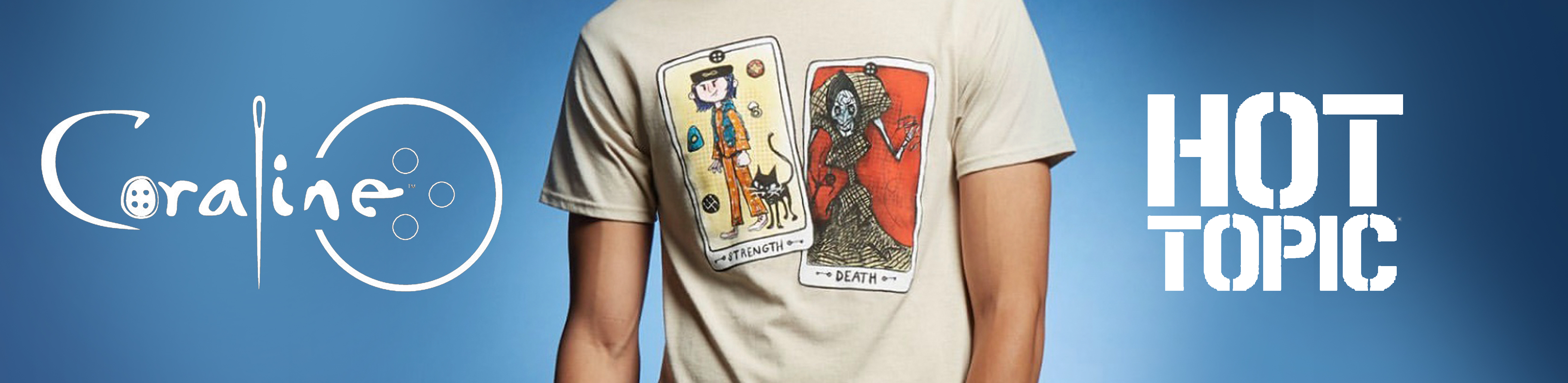 Coraline 10th Anniversary Shirt At Hot Topic