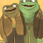 Arnold Lobel's Frog and Toad (Fan Art)